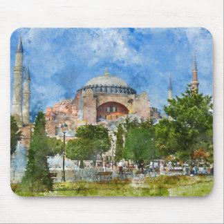 Hagia Sophia in Sultanahmet, Istanbul Mouse Pad