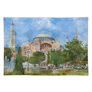 Hagia Sophia in Sultanahmet, Istanbul Placemat
