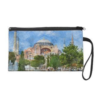 Hagia Sophia in Sultanahmet, Istanbul Turkey Wristlet