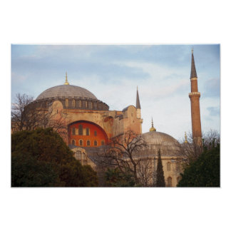 Hagia Sophia inaugurated by the Byzantine Poster