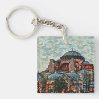 Hagia Sophia Keychain