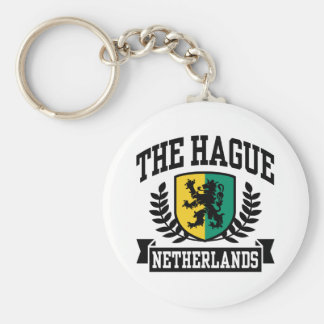 Hague Basic Round Button Key Ring