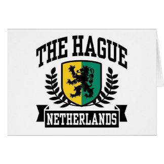 Hague Greeting Card