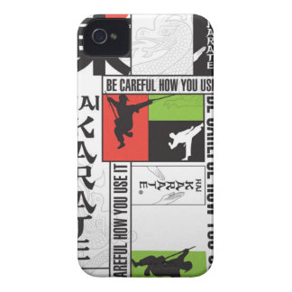 Hai Karate Brand Page iPhone 4 Case-Mate Case