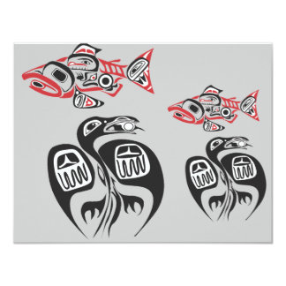 Haida Art Card