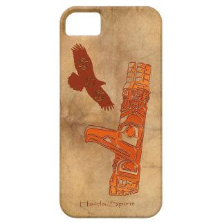 Haida Eagle & Totem Pole Native Art Barely There iPhone 5 Case