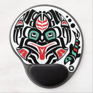Haida-esque Frog Spirit of Pacific Northwest Gel Mouse Pad