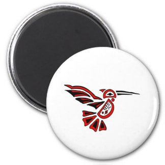 haida hummingbird magnet