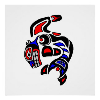 Haida Orca  2014 Poster