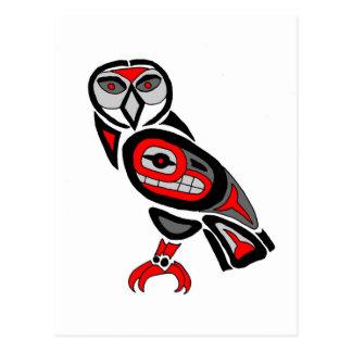 Haida Owl 2014 Postcard