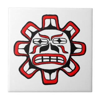 Haida sun ceramic tile