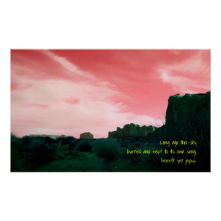 Haiku Bereft Yet Joyous Poster