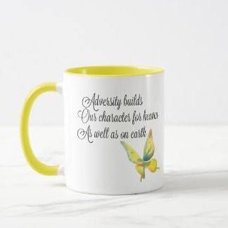 Haiku Mug - Adversity Builds our character