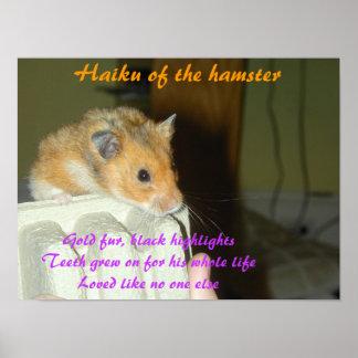 Haiku of the Hamster 1 Poster
