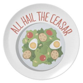 Hail Caesar Party Plate
