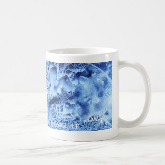 Hail Mary, Full of Grace Watercolor coffee mug