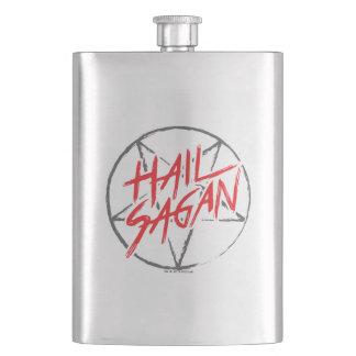 Hail Sagan Hip Flask