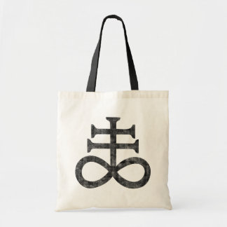 Hail Satan - 666 Cult CROSS anti-Christian - Tote Bag