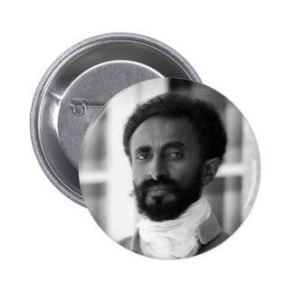 Haile Selassie 6 Cm Round Badge