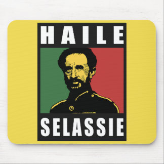 Haile Selassie Emperor - Reggae - Rasta Mousepad