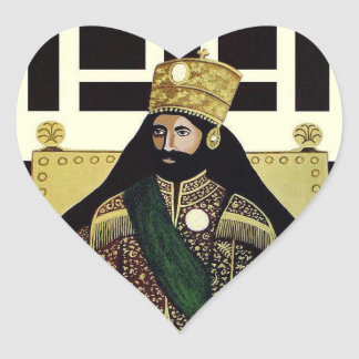 Haile Selassie Empire OF Ethiopia Love Sticker