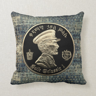 Haile Selassie - HIM - Jah Rastafari - Pillow