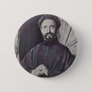Haile Selassie I 6 Cm Round Badge