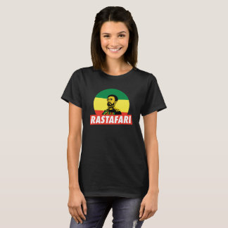 Haile Selassie Jah Rastafari Emperor Rasta shirt