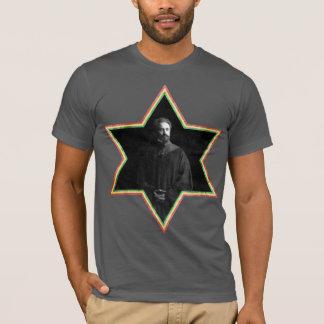 Haile Selassie Star of David T-Shirt