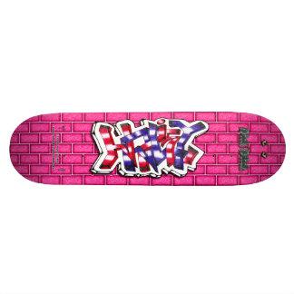 Hailey 02 ~ Custom Graffiti Art Pro Skateboard