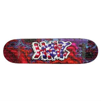 Hailey 03 ~ Custom Graffiti Art Pro Skateboard
