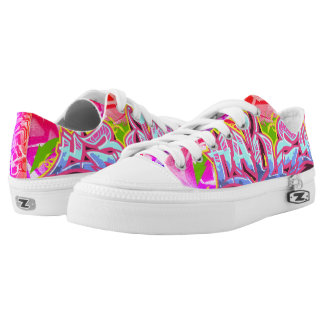 Hailey in Graffiti Printed Shoes