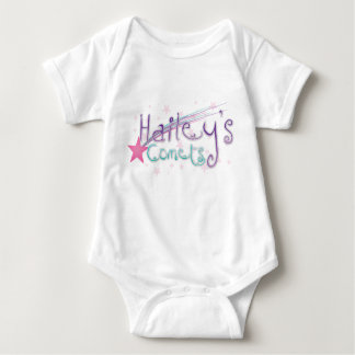 hailey's comets white) baby bodysuit
