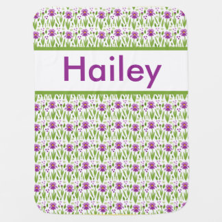 Hailey's Personalized Iris Blanket