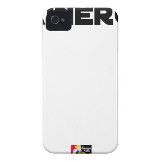 HAINERGIE - Word games - François City iPhone 4 Case-Mate Case