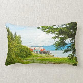 Haines, Alaska Lumbar Cushion
