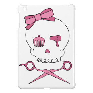Hair Accessory Skull & Scissor Crossbones iPad Mini Cases