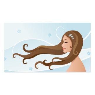Hair and beauty salon business card