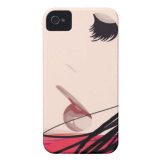 Hair and Makeup Lady iPhone 4 Case