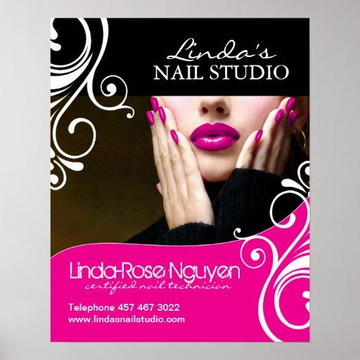 Hair and Nail Salon Poster