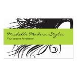 Hair Beauty Business Cards