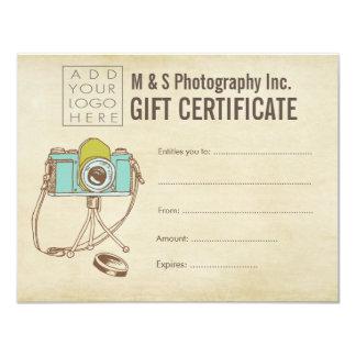 Hair Beauty Salon Gift Certificate Template Card