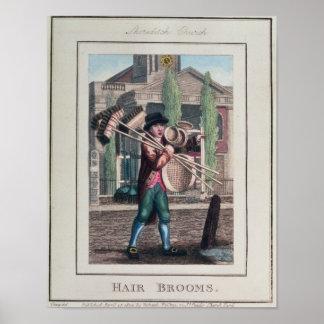 Hair Brooms, Shoreditch Church Posters