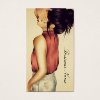 Hair Business Card