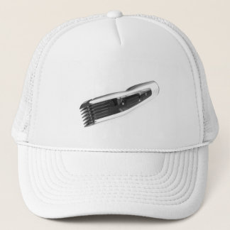 Hair clipper trucker hat