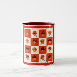 Hair Color Bingo Two-Tone Coffee Mug
