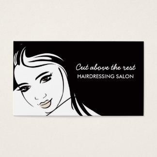 Hair Cuts Salon Business Card