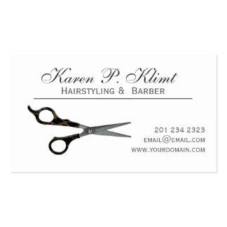 Hair Cutting Scissors Business Card Template