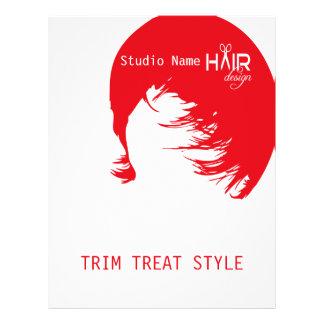 Hair Design 1 - Flyer, Pricing