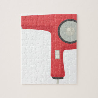 Hair Dryer Jigsaw Puzzle